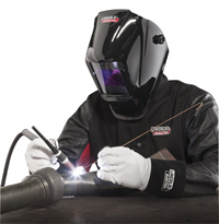 TIG Welding with Viking and Red Line Welding Gear