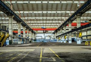 Large Warehouse interior